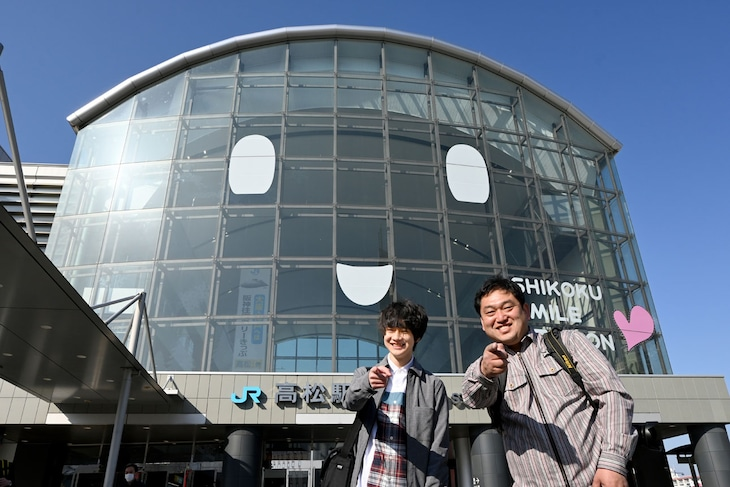 伊藤壮吾(SUPER★DRAGON)と助川康史。