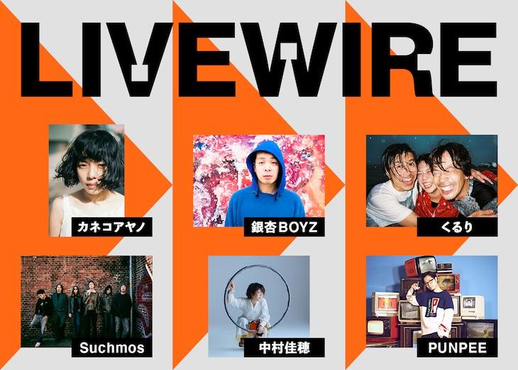 「LIVEWIRE」告知ビジュアル