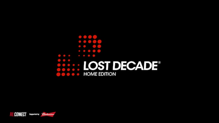 「LOST DECADE - HOME EDITION supported by Budweiser」ロゴ