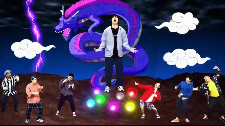 Fischer's「好きなこと無制限」ミュージックビデオのワンシーン。