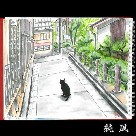 斉藤和義「純風」ジャケット
