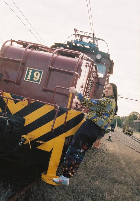 炭鉱電車とSeiho。