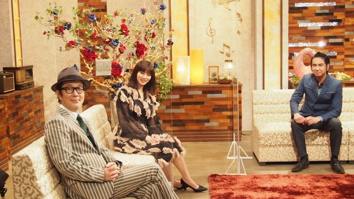左からリリー・フランキー、池田エライザ、田島貴男(ORIGINAL LOVE)。(写真提供:NHK)