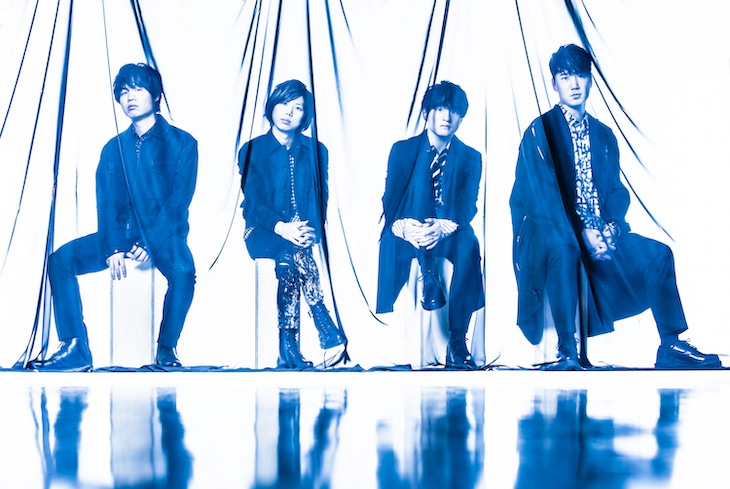 Official髭男dism。右から2番目が藤原聡(Vo, Piano)。