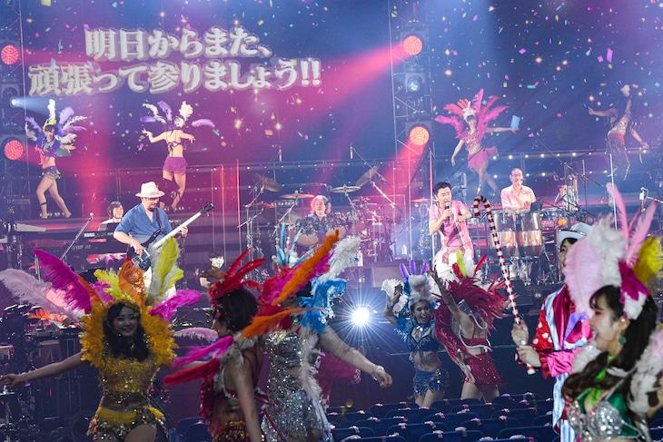 「サザンオールスターズ 特別ライブ 2020『Keep Smilin' ~皆さん、ありがとうございます!!~』」の様子。(撮影:岸田哲平)