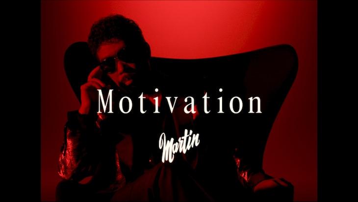 鈴木雅之「Motivation」ミュージックビデオのワンシーン。