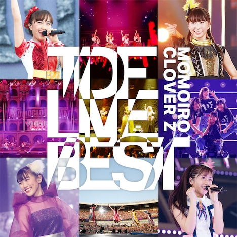 ももいろクローバーZ「TDF LIVE BEST」配信ジャケット
