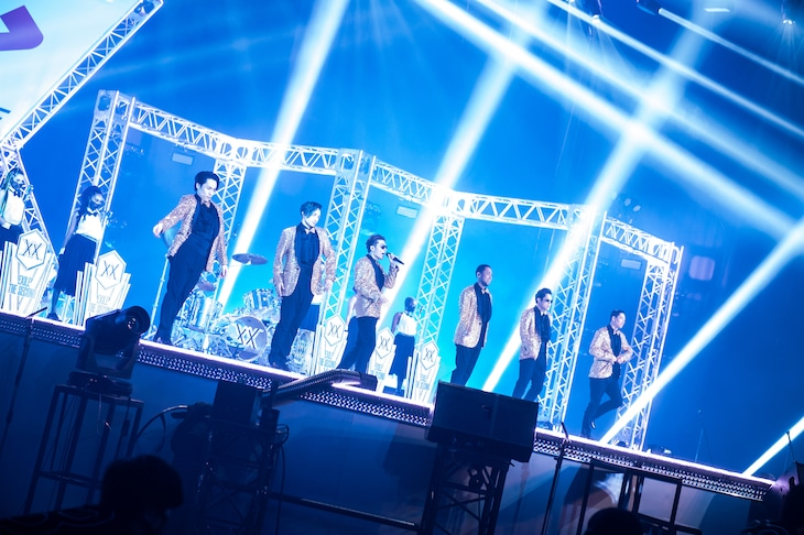 EXILE THE SECOND「LIVE×ONLINE」の様子。(写真提供:LDH)