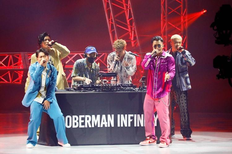 DOBERMAN INFINITY「LIVE×ONLINE」の様子。(写真提供:LDH)
