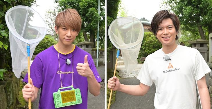 左から小山慶一郎、加藤シゲアキ。 (c)TBS