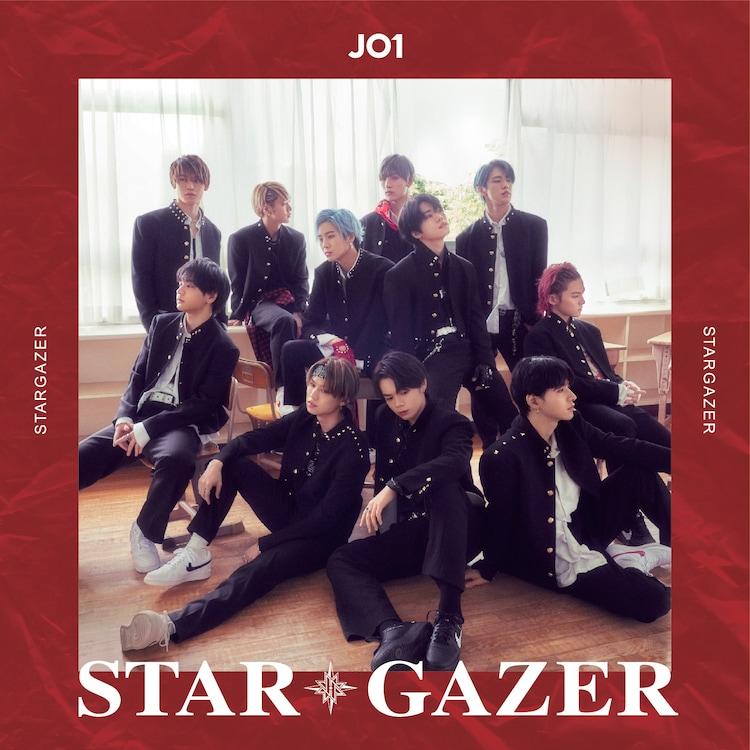 JO1「STARGAZER」初回限定盤Aジャケット