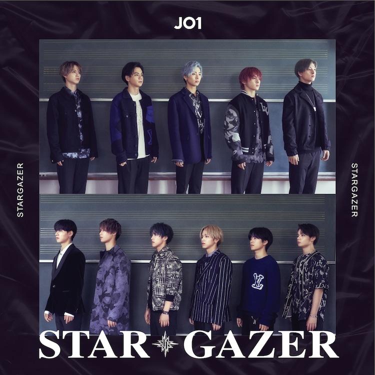 JO1「STARGAZER」初回限定盤Bジャケット