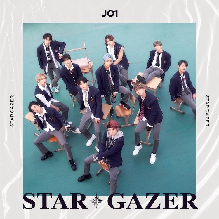 JO1「STARGAZER」通常盤ジャケット