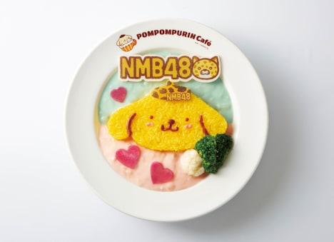 NMB48×POMPOMPURINチームカラーシチュー