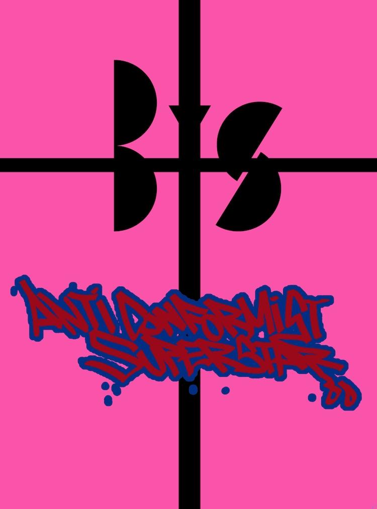 BiS「ANTi CONFORMiST SUPERSTAR」初回限定盤ジャケット