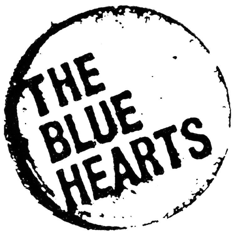 THE BLUE HEARTSロゴ