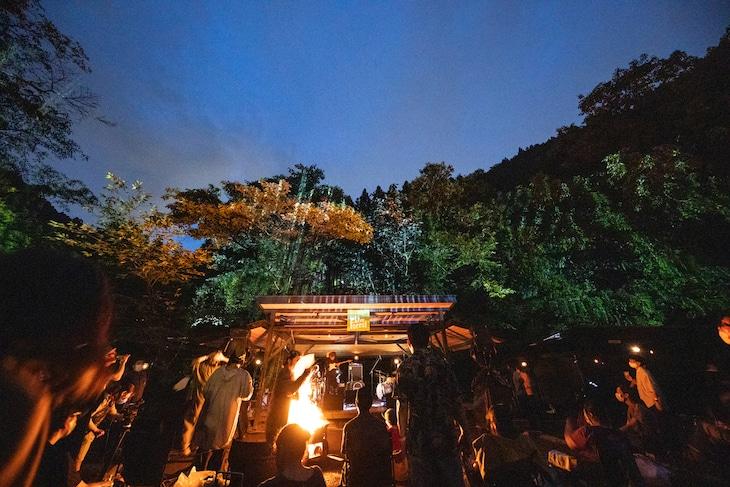 「ROVO LIVE FOREST 2020」より。(撮影:船橋岳大)