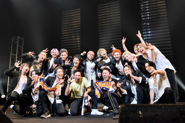 THE RAMPAGE from EXILE TRIBEとチュートリアル。(Photo by AZUSA TAKADA)