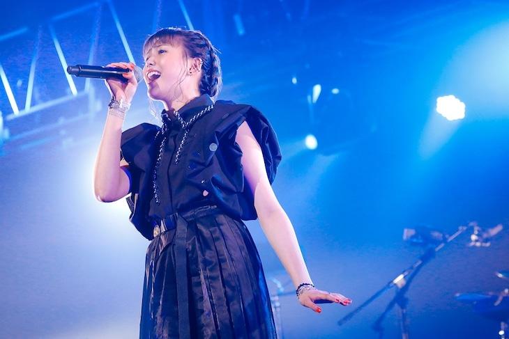 「三阪咲 RAISE YOU UP! Live Streaming 2020 in Summer@EX THEATER ROPPONGI」の様子。