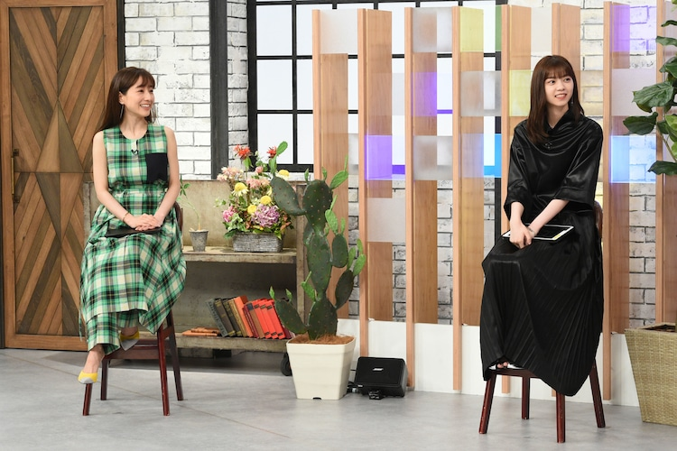 左から田中みな実、西野七瀬。(写真提供:関西テレビ)