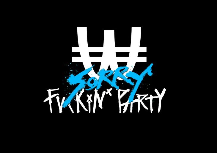「WACK FUCKiN'SORRY PARTY」ロゴ