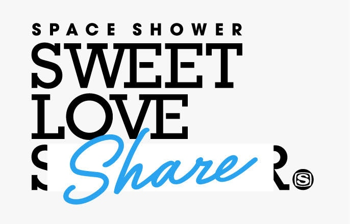 SPACE SHOWER SWEET LOVE SHARE supported by au 5G LIVE」ロゴ