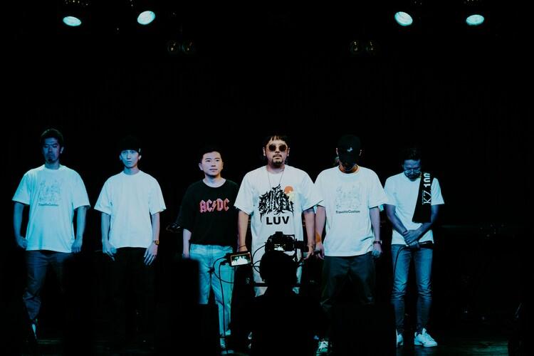 「梅田サイファー無観客無料配信LIVE UC Week 20 Summer ~今 ステージの上~」の様子。