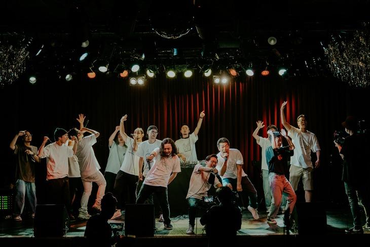 「梅田サイファー無観客無料配信LIVE UC Week 20 Summer ~今 ステージの上~」の様子。(Photo by @Hiroya Brian Nakano)