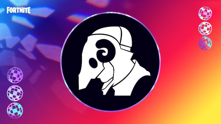 「FORTNITE」内でもらえる米津玄師「STRAY SHEEP」のアートワークを使用したバナーアイコン。(c)2020, Epic Games, Inc