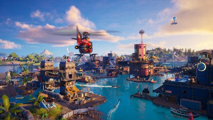 「FORTNITE」イメージ。(c)2020, Epic Games, Inc