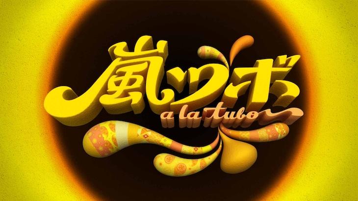 「嵐ツボ」ロゴ (c)フジテレビ