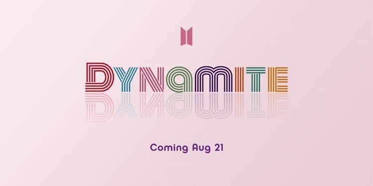 BTS「Dynamite」ロゴ