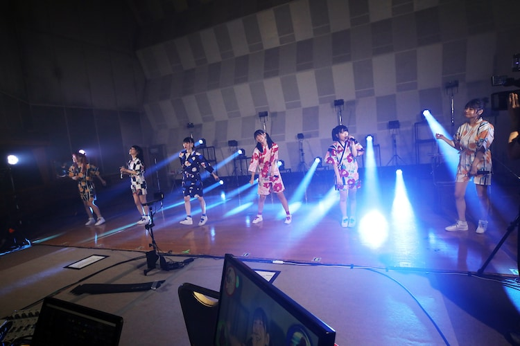でんぱ組.inc「THE FAMILY TOUR 2020 ONLINE ~夏祭り編!!~」より。(撮影:チェリーマン)