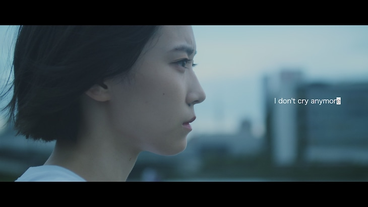 EMPiRE「I don't cry anymore」ティザーより。