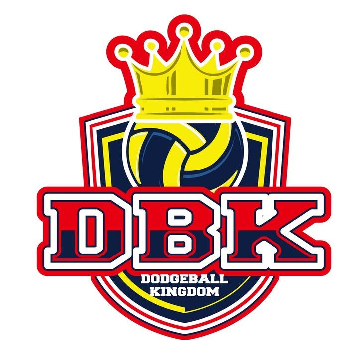 「DODGEBALL KINGDOM」ロゴ