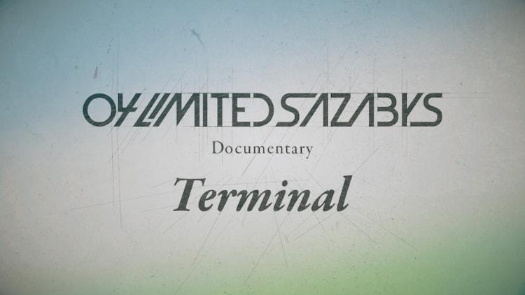 """GYAO!「04 Limited Sazabys Documentary """"Terminal""""」告知画像"""