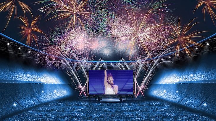 「WE ▼ NAMIE ONLINE HANABI SHOW supported by セブン-イレブン」イメージ