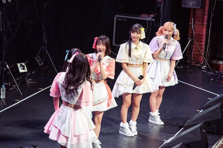 Luce Twinkle Wink☆新体制お披露目ライブの様子。(写真提供:ArcJewel)