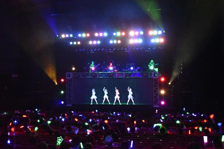 「えのぐワンマンLIVE2020 -次章-」2日目公演の様子。