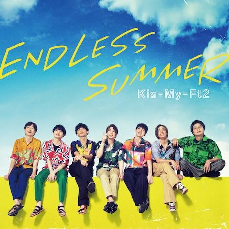 Kis-My-Ft2「ENDLESS SUMMER」初回限定盤Aジャケット