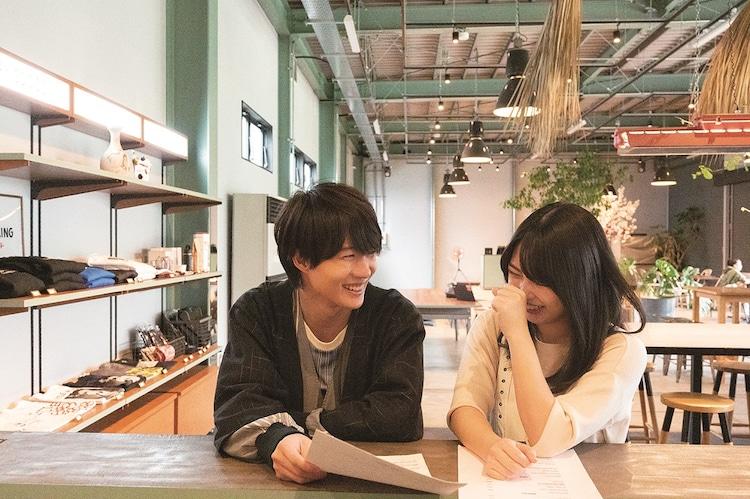 左から神木隆之介、志田未来。