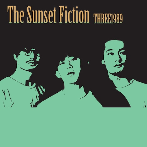 THREE1989「The Sunset Fiction」ジャケット