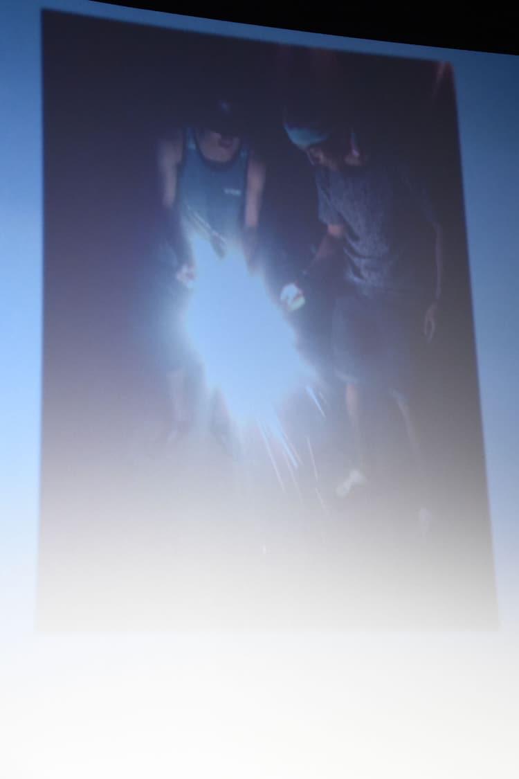 北村匠海の夏の思い出写真。右は矢部昌暉。