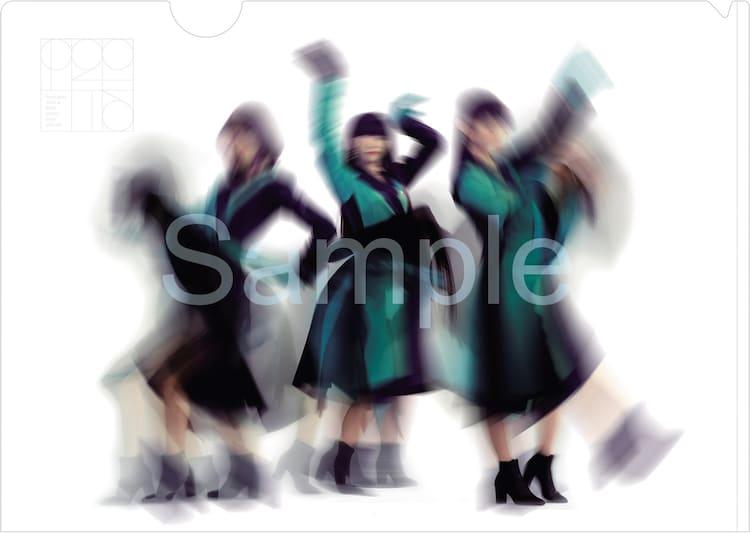 Perfume「Time Warp」予約特典クリアファイルサンプル画像