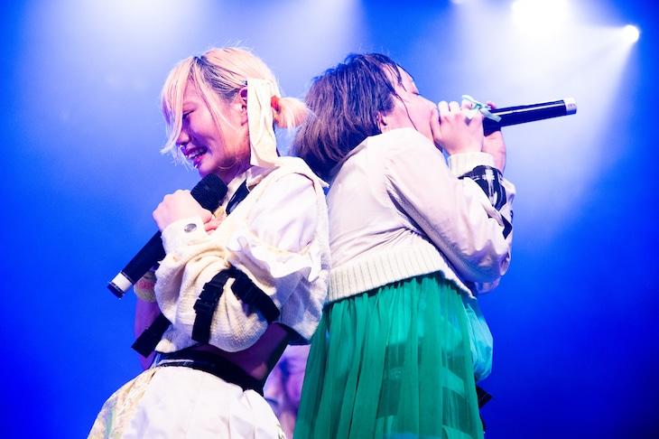 凪あけぼの(左)と一十三四(右)。(撮影:関上貴也)