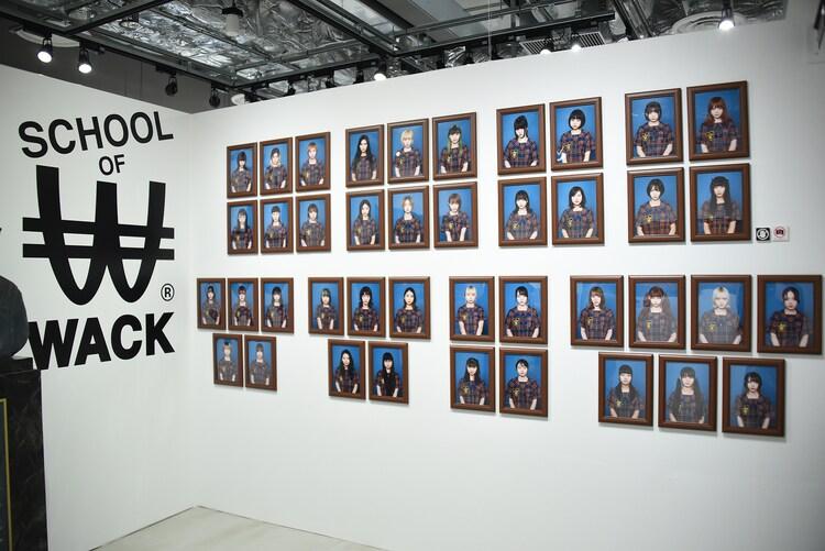 「SCHOOL OF WACK」会場の様子。