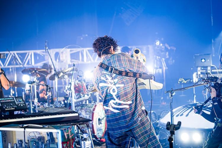 常田大希(Vo, G)(Photo by Kosuke Ito)
