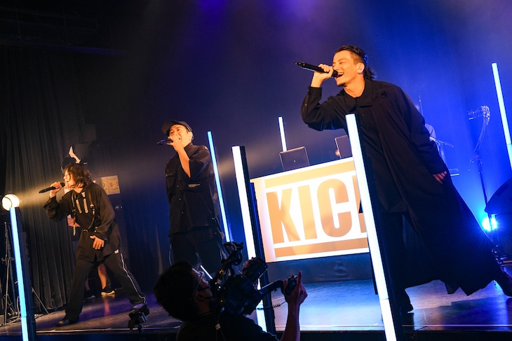 KICK THE CAN CREW(撮影:岸田哲平)