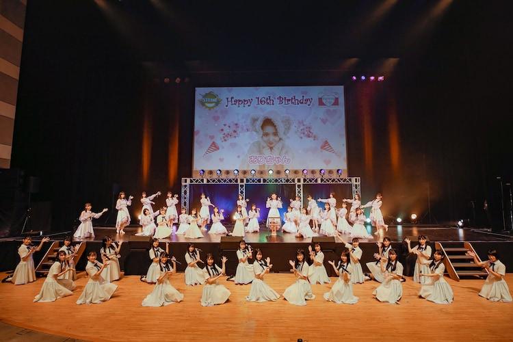 STU48「STU48全員集合!5thシングル発売記念 夏の歌合戦SP」の様子。(c)STU