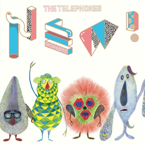 the telephones「NEW!」ジャケット